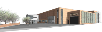 Proposed view from Falcon Lane
