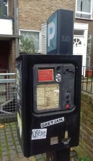 Old broken meter